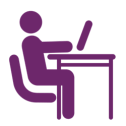 Purple-Secure-Computing-Icon